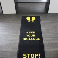 Keep Your Distance Mat